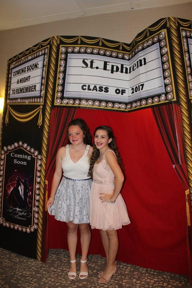 8th grade graduation party - st  ephrem school